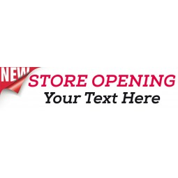 Store Opening Soon - Banner 155