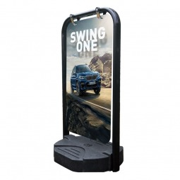 Swing One Panel Pavement Sign