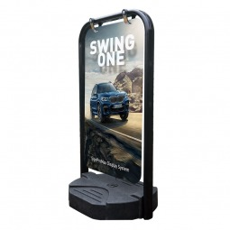 Swing One Double Sided Panel Pavement Sign
