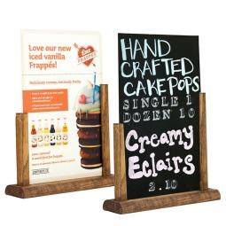 Table Top Slide-In Chalkboard Holder