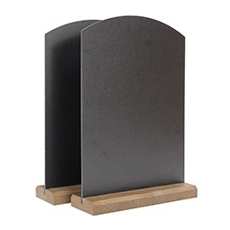 2x Budget Table Top Chalk Boards