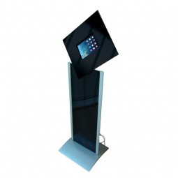 Rotating Graphic Panel Tablet Floor Stand