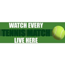 Watch Live Tennis - Banner 182