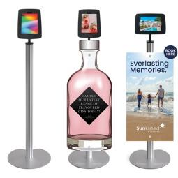 iPad Floor Stand with Thumbscrews