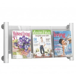 Used to display 3 x A4 brochures