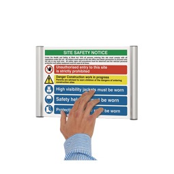 Wall Mounted Office Signage System