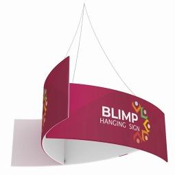 WaveLine Blimp™ Pinwheel - Hanging Banner