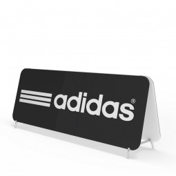 Large Size of the Double Sided Banner Frames With Stretched Fabric Graphics