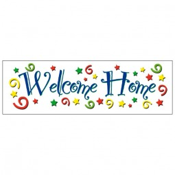 Welcome Home - Banner 187