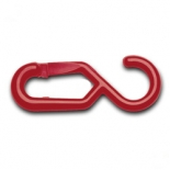 Plastic Chain Hooks - Red