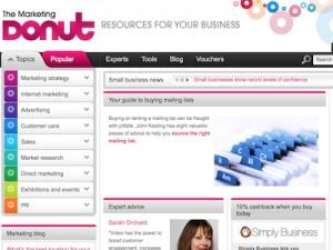 The Marketing Donut Screenshot