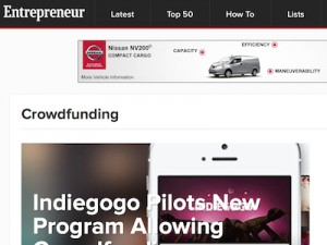 Entrepreneur.com Screenshot