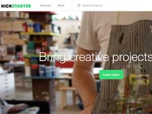 Kickstarter Screenshoot