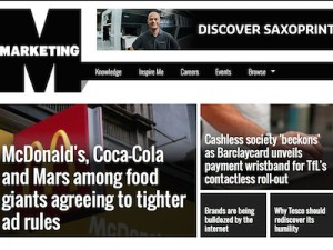 Marketing Magazine Screenshot