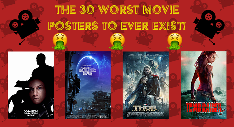 The 30 Worst Movie Posters Ever Discount Displays Blog