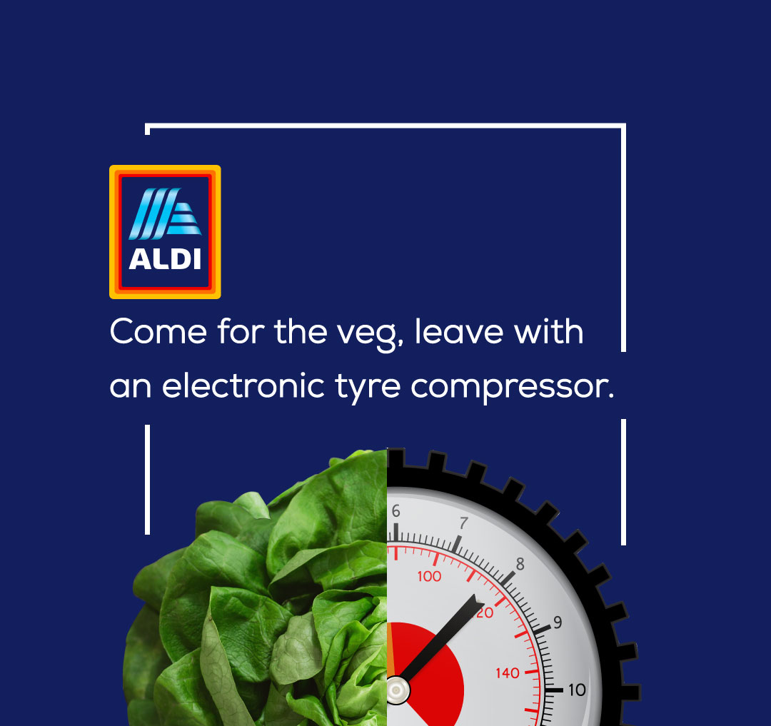 Brutally Honest Brand Slogans - ALDI