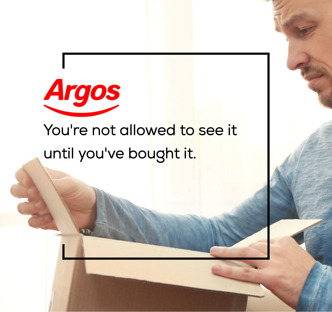 Brutally Honest Brand Slogans - Argos