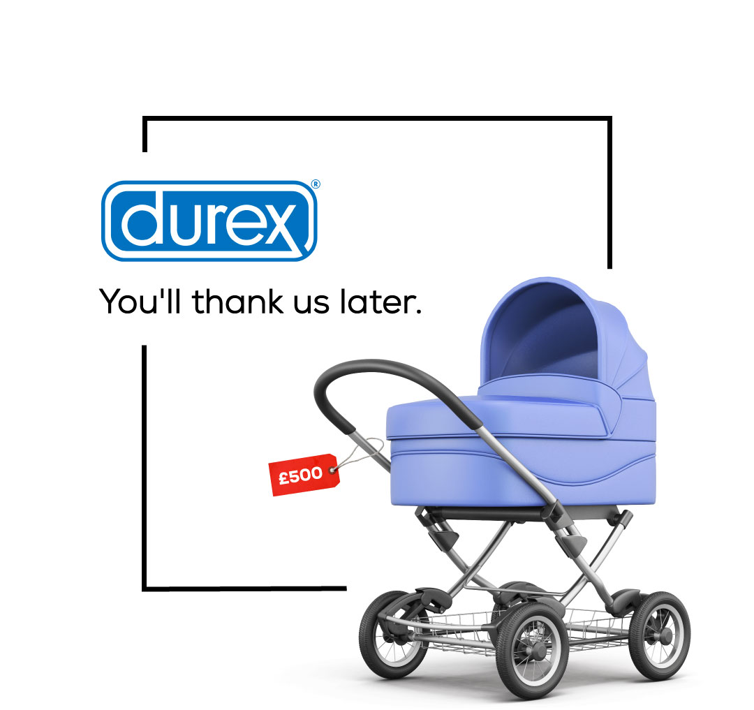Brutally Honest Brand Slogans - Durex
