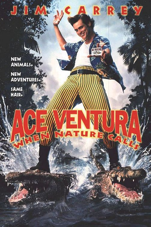 Ace Ventura When Nature Calls Movie Poster