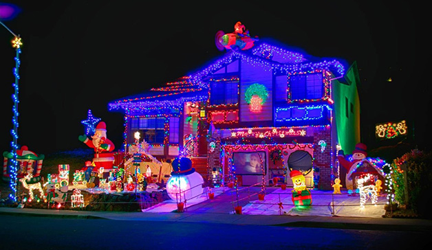 Amazing House Christmas Light Displays