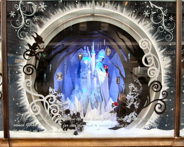 Fenwick's Christmas Window Display 2013