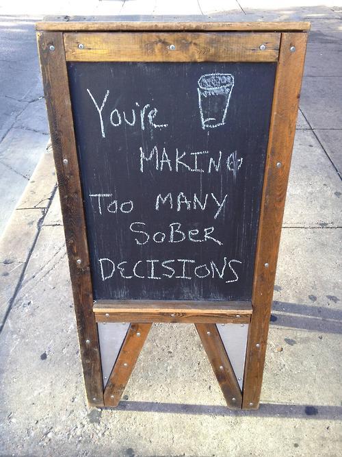 Funny Chalk Pavement Sign 10