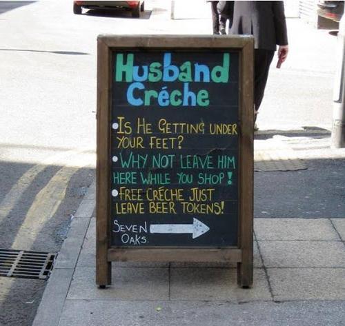 Funny Chalk Pavement Sign 4