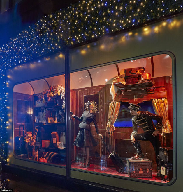 Harrods Christmas Window Display 2013