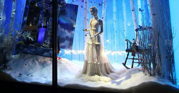Xmas Window Display