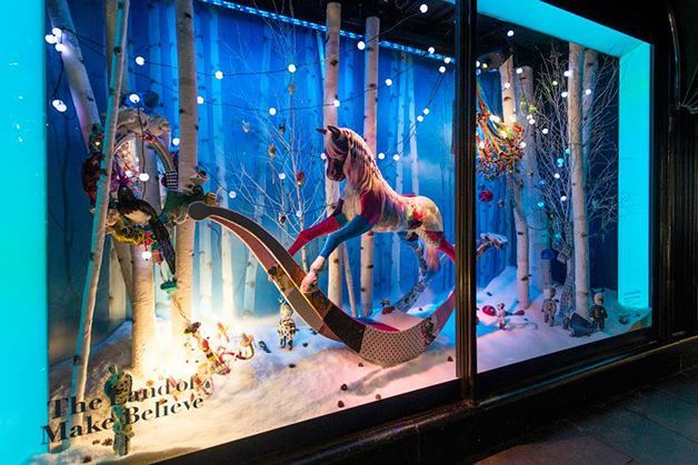 Harrods Holiday Window Display