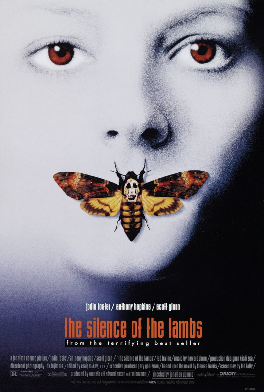 Top Horror Posters - Silence of The Lambs
