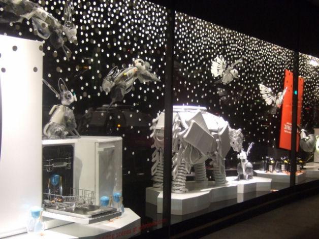 John Lewis Christmas Window Display 2013