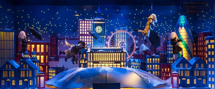 Best Christmas Window Displays 2014