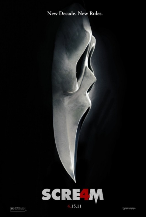 Top Horror Posters - Scream 4