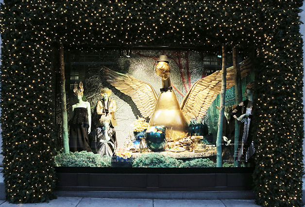 Selfridges Christmas Window Display 2014